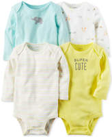 Carter's 4-Pk. Super Cute Cotton Bodysuits, Baby Boys and Girls (0-24 months)