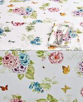 "Lenox Butterfly Meadow Hydrangea 70"" Round Tablecloth"