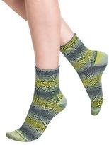 Bleu Foret Bamboo Ankle Socks
