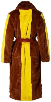 Aggi Heera Mink Faux Fur Coat