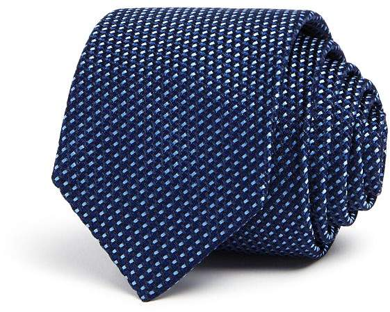 HUGO Two-Tone Neat Skinny Tie