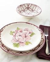 12-Piece Lattice & Floral Dinnerware Service