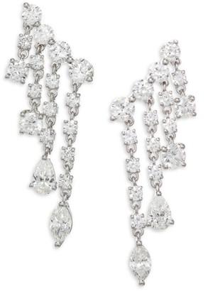 Anita Ko Diamond & White Gold Rain Drop Earrings