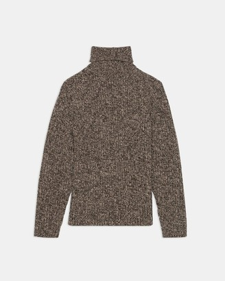 Theory Turtleneck Sweater in Wool-Cashmere
