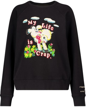 Marc Jacobs x Magda Archer cotton jersey sweatshirt