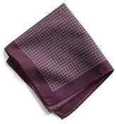 Todd Snyder Italian Cotton Square Print Pocket Square