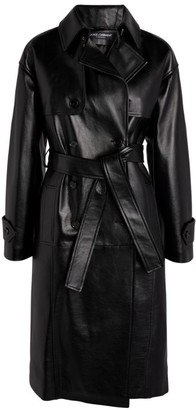 Dolce & Gabbana Long Leather Coat