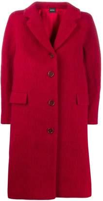Aspesi paneled single breasted coat