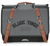 Ikks BLACK TIGER CARTABLE 38CM Black / Grey / Brown