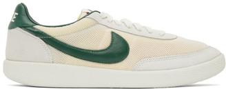 Nike Off-White and Green Killshot OG SP Sneakers