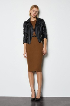 Karen Millen Skinny Rib Knit Dress