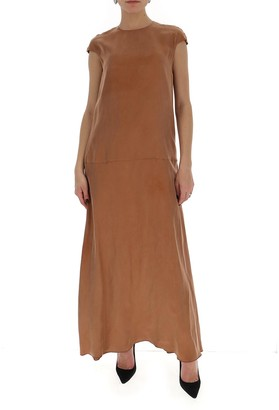L'Autre Chose Relaxed Fit Maxi Dress