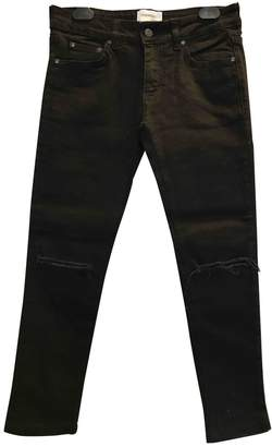 Sincerely Jules Black Cotton - elasthane Jeans for Women