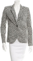 Rachel Zoe Leopard Patterned Blazer