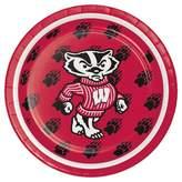 NCAA 8ct University of Wisconsin Dessert Plates