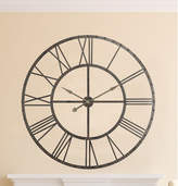 Darby Home Co Upton Round Oversized Wall Clock
