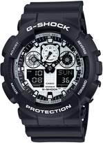 G-Shock CASIO Men's Watch White and Black Series GA-100BW-1AJF