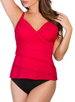 Miraclesuit Suit Yourself Rumba Ruffle Tankini Top