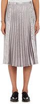 Noir Kei Ninomiya Women's Pleated Lamé Layered Skirt