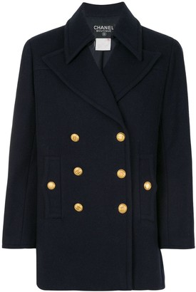 1998s Double-Breasted Short Coat