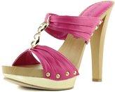Wild Diva Women's Bianca-06 Slip On Platform Sandals Shoes