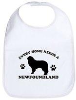 CafePress - Every Home Needs A Newfoundland - Cute Cloth Baby Bib, Toddler Bib