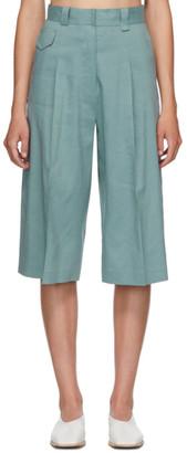 Low Classic Blue Bermuda Shorts