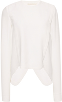 Antonio Berardi Long Sleeve Asymmetrical Top