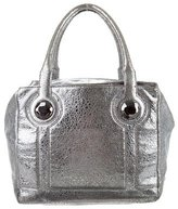 Botkier Metallic Textured Leather Tote