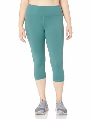 Shape Fx Women's Plus Size S Seam Capri