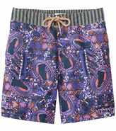 Maaji Men's Boysenberry Traces Long Swim Trunk 8137665