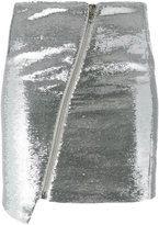 Zoe Karssen sequinned metallic skirt - women - Polyester/Spandex/Elastane/Viscose/Polyethylene Terephthalate (PET) - S