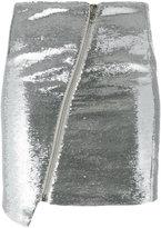 Zoe Karssen sequinned metallic skirt