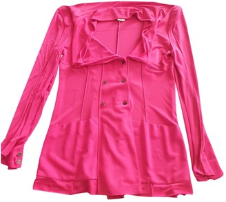 Karl Lagerfeld Paris Pink Top for Women Vintage