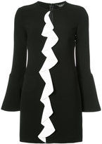 Rachel Zoe frill detail dress