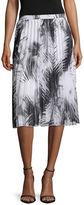WORTHINGTON Worthington Pleated Midi Skirt - Tall