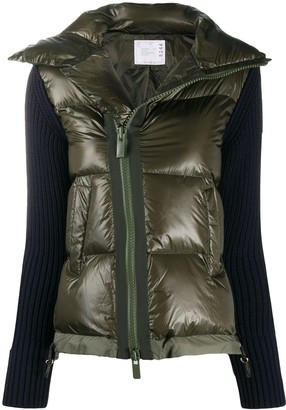 Sacai Short Padded Jacket