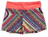 Girl's Gp Sport Zigzag Stretch Shorts