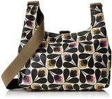 Orla Kiely Womens Matt Laminated Sycamore Seed Print Mini Sling Bag Messenger Bag