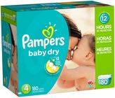 Pampers Baby DryTM 180-Count Size 4 Economy Pack Plus Disposable Diapers