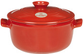 Emile Henry Flame Top Round Dutch Oven/Stew Pot, 2.6 quart