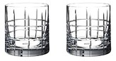 Orrefors Street Double Old Fashioned Pair