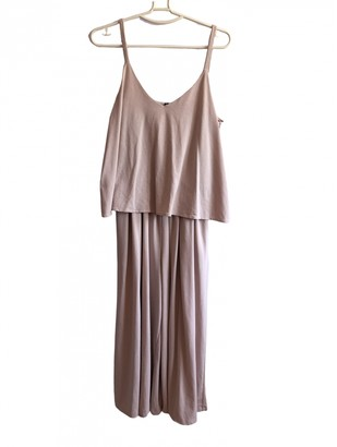 Uniqlo Pink Jumpsuit for Women