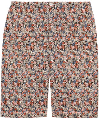 Gucci Liberty floral-print shorts