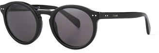 Celine Men's Studded Round Acetate Sunglasses