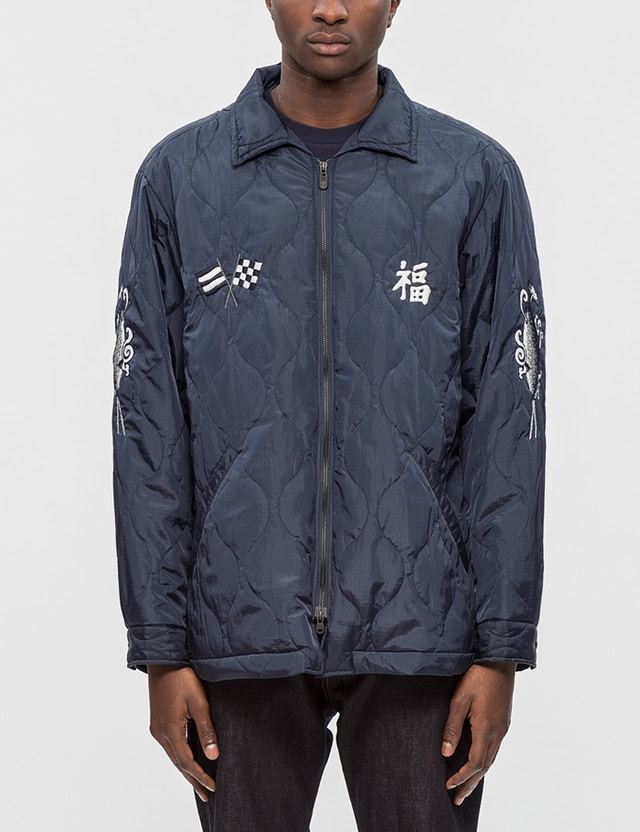 White Mountaineering Quilted Souvenir Jacket