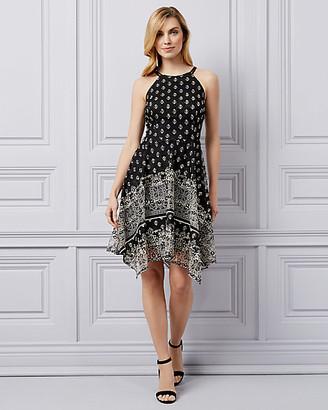 Le Château Lace Halter Neck Dress
