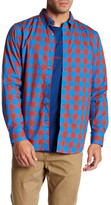 Oakley Night Out Check Plaid Long Sleeve Shirt