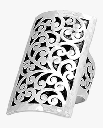 Lois Hill Classic Signature Carved Scroll Ring