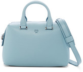 MCM Ella Boston Small Leather Satchel